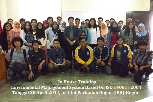 In House Training ISO 14001 IPB