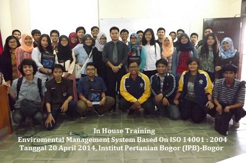 In House Training ISO 14001 IPB